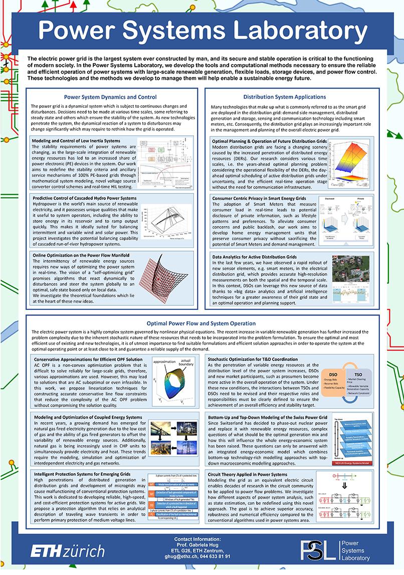 Education – Power Systems Laboratory   ETH Zurich